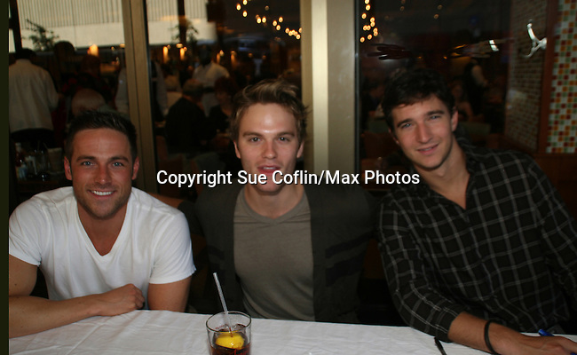 ATWT - Bruce Dylan - Van Hansis - Jake Silberman at 22nd Annual Broadway Flea Market & Grand Auction to benefit Broadway Cares/Equity Fights Aids on Sunday, September 21, 2008 in Shubert Alley, New York City, New York. (Photo by Sue Coflin/Max Photos)