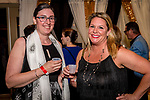 WATERBURY, CT. 18 May 2018-051818BS19 - From left, Evelynn Devin of Waterbury and Angela Ransome of Cheshire stand together for a photo on Friday evening for the Palace's Annual Big Fundraiser. Bill Shettle Republican-American