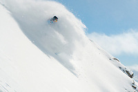 pow slash, Jackson Hole, Wyoming