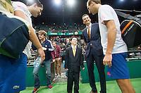 13-02-13, Tennis, Rotterdam, ABNAMROWTT, Thiemo de Bakker / Jesse Huta Galung