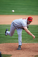 Richmond Flying Squirrels pitcher Joe Biagini (35) delivers a pitch during a game against the Erie Seawolves on May 20, 2015 at Jerry Uht Park in Erie, Pennsylvania.  Erie defeated Richmond 5-2.  (Mike Janes/Four Seam Images)