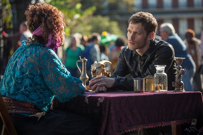 "Joseph Morgan as Klaus in the The Vampire Diaries spinoff ""The Originals"""