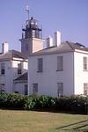 Beavertail Light in Jamestown Rhode Island