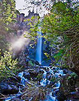 Treasure Falls, north of Pagosa Springs in southwestern Colorado.