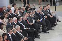 """BRASÍLIA,DF 13 DE MARÇO 2013. - PRESIDENTA DILMA PARTICIPA DA CERIMÔNIA DE LANÇAMENTO DO """"PROGRAMA MULHER VIVER SEM VIOLÊNCIA"""" -  Ministros durante o lançamento do programa Mulher Viver Sem Violência no Palácio do Planalto, em Brasilia, nesta quarta-feira, 13. FOTO: RONALDO BRANDÃO/BRAZIL PHOTO PRESS"""