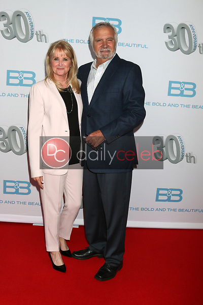 """Laurette McCook, John McCook<br /> at the """"The Bold and The Beautiful"""" 30th Anniversary Party, Clifton's Downtown, Los Angeles, CA 03-18-17<br /> David Edwards/DailyCeleb.com 818-249-4998"""