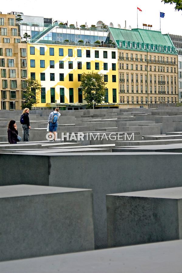 Memorial do Holocausto em Berlim. Alemanha. 2008. Foto de Cris Berger.