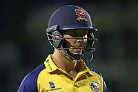 Simon Harmer of Essex leaves the field having been dismissed for 2 during Essex Eagles vs Somerset, Vitality Blast T20 Cricket at The Cloudfm County Ground on 7th August 2019