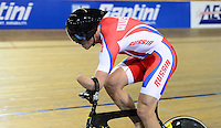Picture by Simon Wilkinson/SWpix.com - 02/03/2017 - Cycling 2017 UCI Para-Cycling Track World Championships, Los Angeles USA - OBYDENNOV Alexsey<br /> branding
