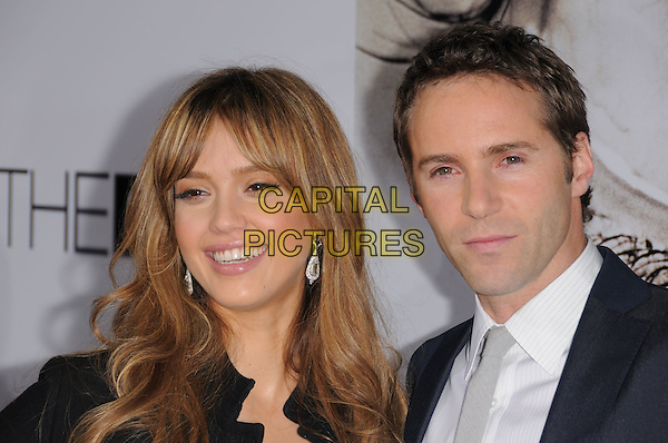 Jessica Alba & Alessandro Nivola attends The Lionsgate World Premiere of The Eye held at The Arclight Cinemas in Hollywood, California on January 31,2008                                                                                      Copyright 2007 Debbie VanStory/RockinExposures