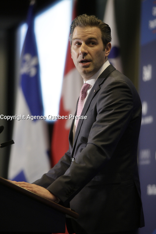 Alexandre l'heureux<br /> , President and CEO,  WSP<br /> <br /> PHOTO  :  Agence Quebec Presse