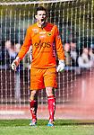 Uppsala 2014-05-01 Fotboll Svenska Cupen IK Sirius - IF Elfsborg :  <br /> Elfsborgs m&aring;lvakt Kevin Stuhr-Ellegaard reagerar<br /> (Foto: Kenta J&ouml;nsson) Nyckelord:  Svenska Cupen Cup Semifinal Semi Sirius IKS Elfsborg IFE portr&auml;tt portrait