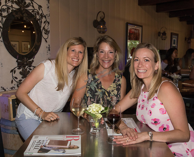 Ashley Maas, Ceanne Johnson and Sara Burkett during Reno Magazine's Fall Fashion Styling at the Whispering Vine Wine Co. on Saturday, August 19, 2017.