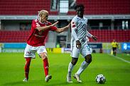 KALMAR, SWEDEN - JULY 01: Jordan Attah Kadiri of Ostersunds FK during the Allsvenskan match between Kalmar FF and Ostersunds FK at Guldfageln Arena on July 1, 2020 in Kalmar, Sweden. (Photo by David Lidström Hultén/LPNA)
