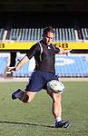 Luke McAlister. All Blacks kickers session, Eden Park, Auckland. July 18 2007.
