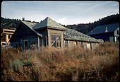 RGS Placerville depot being used as a residence after moving from original location and shortening it a little.<br /> RGS  Placerville, CO  Taken by Dorman, Richard L. - ca. 1970-1979
