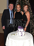 Casey Dixon celebrating her 21st birthday in the Thatch with parents Tony and Rose. Photo:Colin Bell/pressphotos.ie