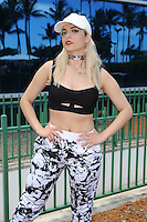 MIAMI BEACH , FL - JULY 23: Bebe Rexha poses for a portrait at the I Heart Radio Y-100 Mackapoolooza Pool Party at The Fountainbleu on July 23, 2016 in Miami Beach, Florida. Credit: mpi04/MediaPunch