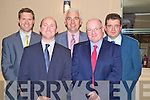 Pictured at the IFA meeting on land transfer at the Heights Hotel, Killarney on TTuesday evening were Pat Crean, Sherry Fitzgerald Crean, Michael Brosnan, IFAC accountants, Tom Turley, IFA national rural development chairman, Declan McEvoy, IFAC tax department and James McCarthy, Kerry IFA.