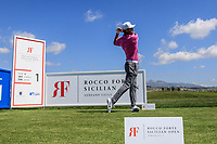 Lucas Bjerregaard (DEN) during the ProAm ahead of the Rocco Forte Sicilian Open played at Verdura Resort, Agrigento, Sicily, Italy 09/05/2018.<br /> Picture: Golffile | Phil Inglis<br /> <br /> <br /> All photo usage must carry mandatory copyright credit (&copy; Golffile | Phil Inglis)