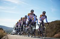 Lotto-Belisol trainingcamp.Benicassim, january 2013