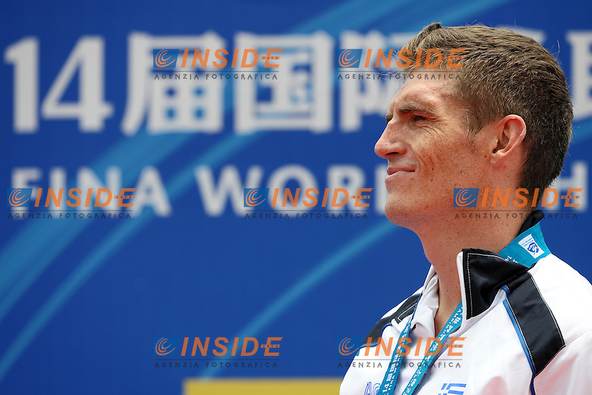 Spyros GIANNOTIS Greece Gold Medal.Men's 10 Km Open Water Swimming.Shanghai 20/7/2011 .14th FINA World Championships.Foto Andrea Staccioli Insidefoto