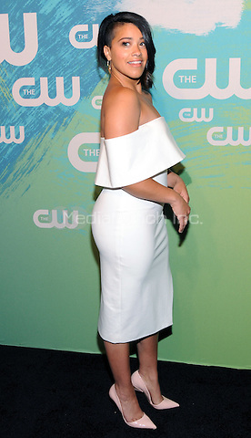 NEW YORK, NY - MAY 19: Gina Rodriguez attends the 2016 CW Upfront presentation at the London Hotel on May 19, 2016 in New York City. Photo Credit: John Palmer/ MediaPunch