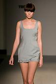 15-20 September 2007, London/UK, London Fashion Week. Dress by designer Hannah Marshall.