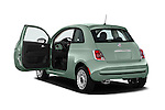 Car images of 2016 Fiat 500 Pop 3 Door Hatchback Doors