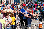 Dancing at the Gig Rig Fleadh by the Feale last Sunday on Sunday afternoon.