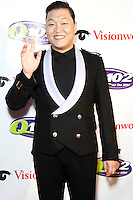 PHILADELPHIA, PA - DECEMBER 5 :  Psy pictured on the red carpet at Q 102's Jingle Ball 2012 presented by Xfinity at the Wells Fargo Center in Philadelphia, Pa on December 5, 2012  © Star Shooter / MediaPunch Inc /NortePhoto©