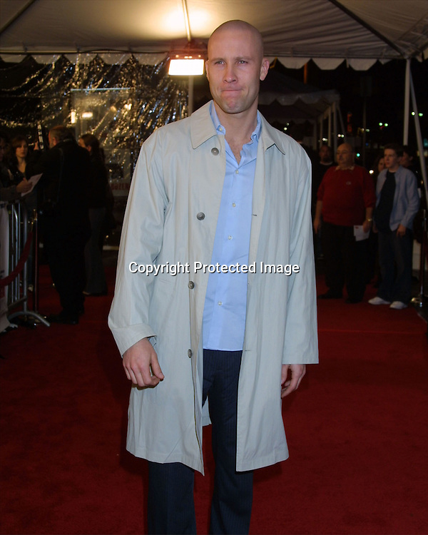 "©2003 KATHY HUTCHINS / HUTCHINS PHOTO.PREMIER OF ""CHEAPER BY THE DOZEN"".LOS ANGELES, CA.DECEMBER 14, 2003..MICHAEL ROSENBAUM"