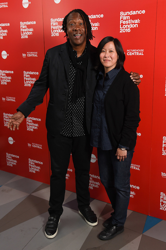 """director, Roger Ross Williams and Kim Yutani<br /> arrives for the """"Life, Animated"""""""" screening as part of the Sundance Film Festival: London 2016 at the Picturehouse Central, London.<br /> <br /> <br /> ©Ash Knotek  D3127  03/06/2016"""