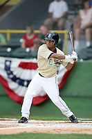 June 24, 2009: Alexi Amarista of the Cedar Rapids Kernels at the 2009 Midwest League All Star Game at Alliant Energy Field in Clinton, IA.  Photo by: Chris Proctor/Four Seam Images