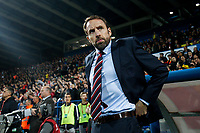 England Manager Gareth Southgate before the UEFA Euro 2020 Qualifying Group A match  <br /> Podgorica 25-3-2019 <br /> Football Euro2020 Qualification Montenegro - England <br /> Foto Daniel Chesterton / PHC / Insidefoto <br /> ITALY ONLY