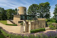 BNPS.co.uk (01202 558833)<br /> Pic: KnightFrank/BNPS<br /> <br /> Not run of the mill ...<br /> <br /> A spectacular 14th century converted mill which served local monks in the distant past has emerged on the market for £2million.<br /> <br /> Millway Tower is set in an elevated position in the heart of the picturesque North Cotswolds in an Area of Outstanding Natural Beauty.<br /> <br /> Originating from 1307, the tower is believed to have used as a saw mill by the monks of Maugersbury when the area was covered by forest.<br /> <br /> It has been painstakingly converted into a four bedroom home by its current owner over the past decade.