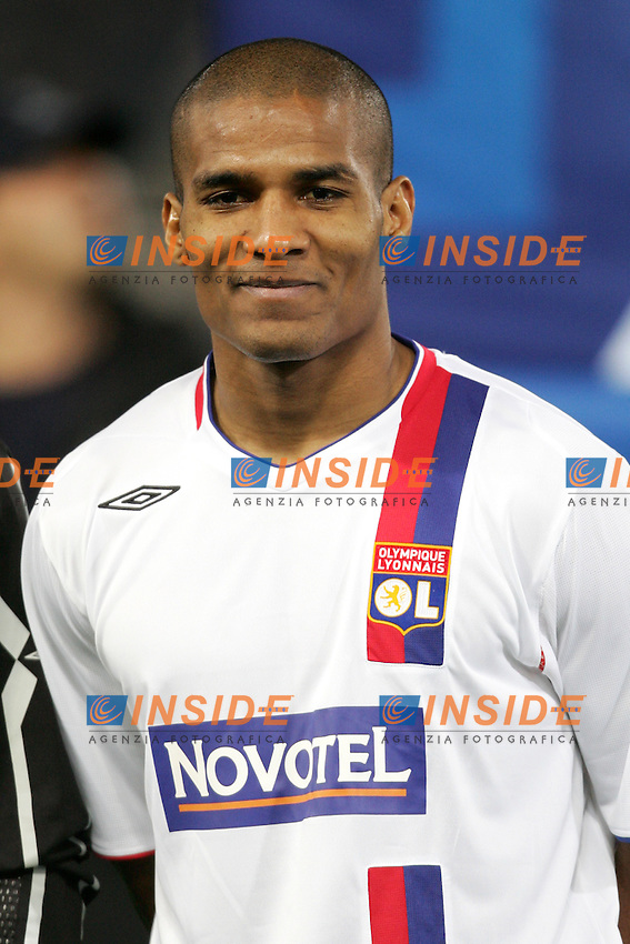 Florent Malouda (Olympique Lyonnais)<br /> Champions League 2006-2007<br /> 21 Feb 2007 (First knockout round)<br /> Roma - Olympique Lyonnaise (0-0)<br /> &quot;Olimpico&quot; Stadium - Roma - Italy<br /> Photographer: Andrea Staccioli Inside Roma Olympique Lyon