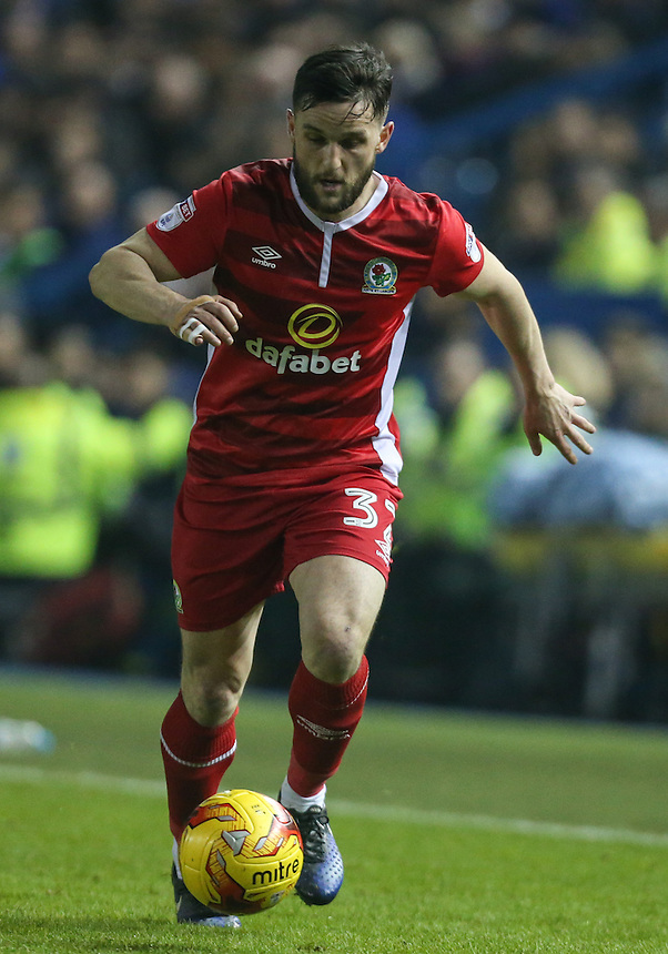 Blackburn Rovers' Craig Conway in action <br /> <br /> Photographer Alex Dodd/CameraSport<br /> <br /> The EFL Sky Bet Championship - Sheffield Wednesday v Blackburn Rovers - Tuesday 14th February 2017 - Hillsborough - Sheffield<br /> <br /> World Copyright &copy; 2017 CameraSport. All rights reserved. 43 Linden Ave. Countesthorpe. Leicester. England. LE8 5PG - Tel: +44 (0) 116 277 4147 - admin@camerasport.com - www.camerasport.com