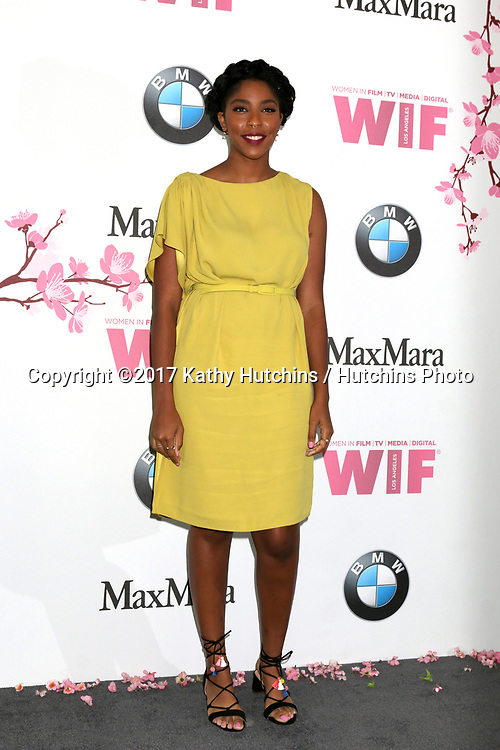 LOS ANGELES - JUN 13:  Jessica Williams at the Women in Film Los Angeles Celebrates the 2017 Crystal and Lucy Awards at the Beverly Hilton Hotel on June 13, 2017 in Beverly Hills, CA