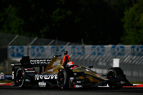 Verizon IndyCar Series<br /> Honda Indy 200 at Mid-Ohio<br /> Mid-Ohio Sports Car Course, Lexington, OH USA<br /> Sunday 30 July 2017<br /> James Hinchcliffe, Schmidt Peterson Motorsports Honda<br /> World Copyright: Scott R LePage<br /> LAT Images<br /> ref: Digital Image lepage-170730-to-10864