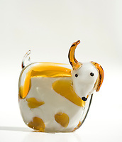 Fun glass dog