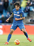Getafe's Damian Suarez during La Liga match. February 14,2016. (ALTERPHOTOS/Acero)