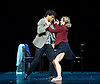 Carlos Acosta in Derrumbe <br /> part of the Cubania<br /> at The Royal Opera House, Covent Garden, London, Great Britain <br /> press photocall <br /> 27th July 2015 <br /> opening night 27th July 2015 <br /> Choreography by Miguel Altunaga <br /> <br /> Derrumbe<br /> danced by Carlos Acosta and Pieter Symonds <br /> <br /> Music by Eduardo Martin <br /> Calendar Suite (enero, febrero, marzo)<br /> <br /> Photograph by Elliott Franks