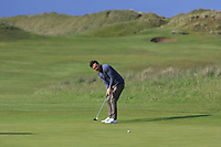 Gerard Dunne (Co.Louth) on the 8th during Round 2 of The East of Ireland Amateur Open Championship in Co. Louth Golf Club, Baltray on Sunday 2nd June 2019.<br /> <br /> Picture:  Thos Caffrey / www.golffile.ie<br /> <br /> All photos usage must carry mandatory copyright credit (© Golffile | Thos Caffrey)