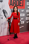 Nuria Gago attends to ARDE Madrid premiere at Callao City Lights cinema in Madrid, Spain. November 07, 2018. (ALTERPHOTOS/A. Perez Meca)