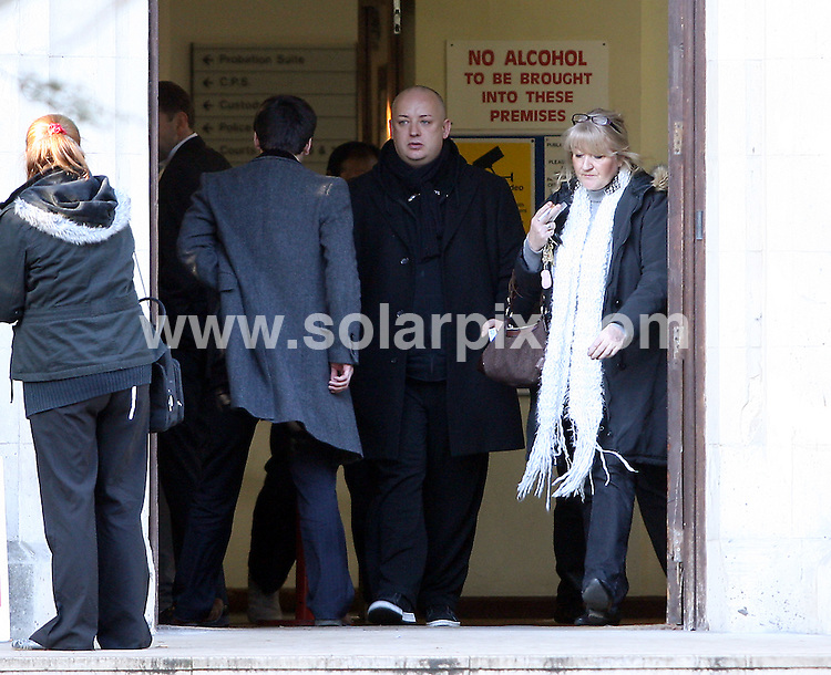 **ALL ROUND PICTURES FROM SOLARPIX.COM**.**WORLDWIDE SYNDICATION RIGHTS**.Pictures from Snarebrook Court and the case that accuses Boy George of the false imprisonment of a male escort at his London apartment. Snaresbrook Court, London. 30 November 2008.This pic: Boy George on day 7 of his court case..JOB REF: 10421 SKD       DATE: 30_11_2008.**MUST CREDIT SOLARPIX.COM OR DOUBLE FEE WILL BE CHARGED**.**MUST NOTIFY SOLARPIX OF ONLINE USAGE**.**CALL US ON: +34 952 811 768 or LOW RATE FROM UK 0844 617 7637**