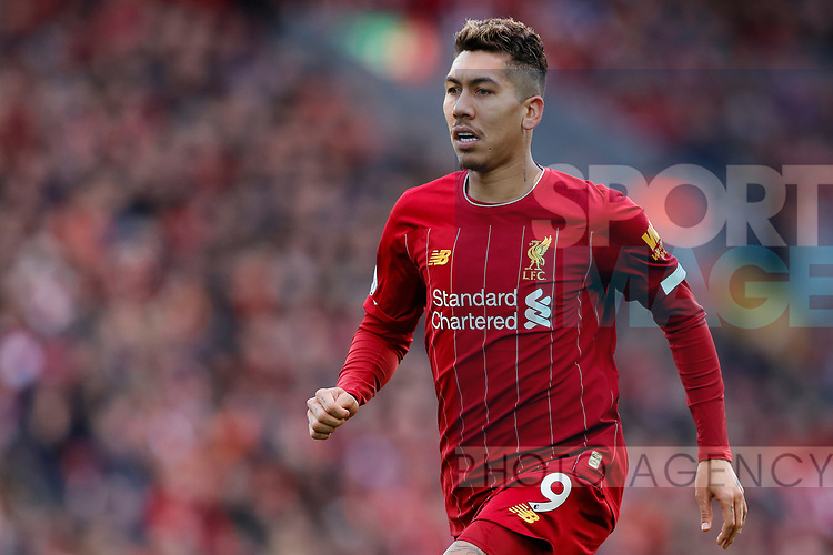 Roberto Firmino of Liverpool during the Premier League match at Anfield, Liverpool. Picture date: 1st February 2020. Picture credit should read: James Wilson/Sportimage