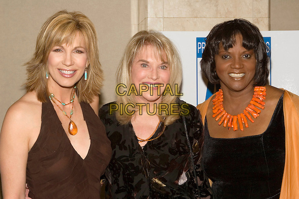 6/29/2005 - West Hollywood, California - Leeza Gibbons, Kelly Lange, and Anna Maria Horsford.  The 2005 Genii Awards Presented by the American Women in Radio and Television Southern California Chapter held at the Wyndham Bel Age Hotel.  Photo Credit: Zach Lipp/AdMedia