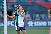 Portland, OR - Saturday July 22, 2017: Caprice Dydasco during a regular season National Women's Soccer League (NWSL) match between the Portland Thorns FC and the Washington Spirit at Providence Park.