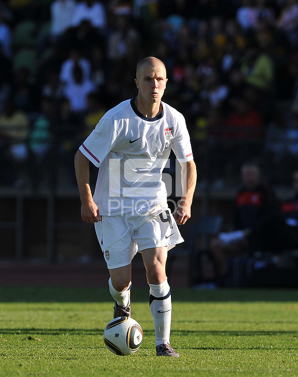 Michael Bradley of USA....Football - International Friendly - USA v Australia - Ruimsig Stadium